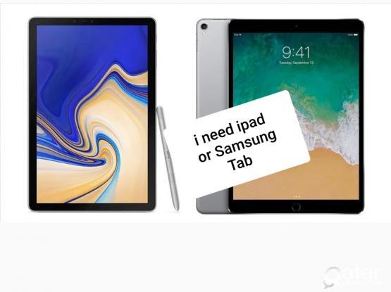 I'm looking to buy ipad or Samsung galaxy tab ....