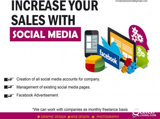 Digital Marketing, Facebook Advt.Graphic Design