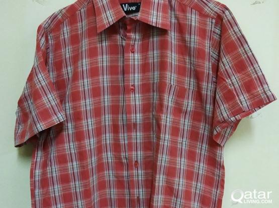 Shirts Pre loved QR 10 Each.
