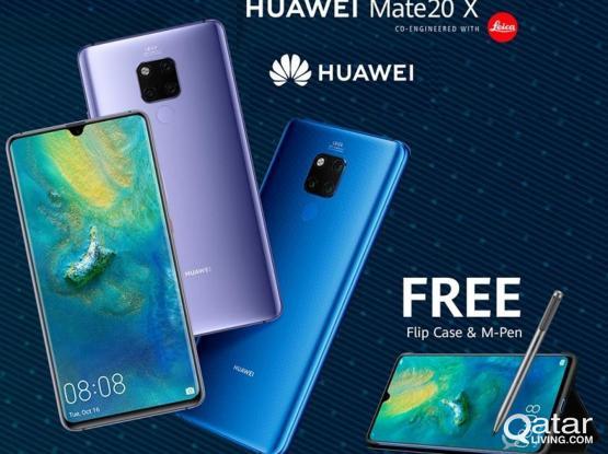 HUAWEI Mate 20X New Free (M-Pen +Flip case)