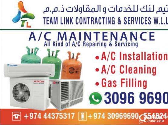 HOUE FOR MAINTENANCE Of ALL TYPES OF SPLIT AND WIN