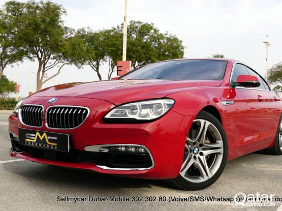BMW 6-Series 630 i 2016