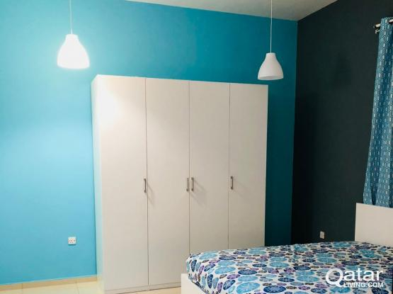 Fully Furnished Amazing and Spacious  1BHK  -No Commission
