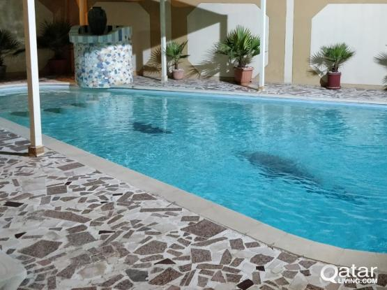 NO COMMISSION 4 BEDS FULLY FURNISHED COMPOUND VILLA