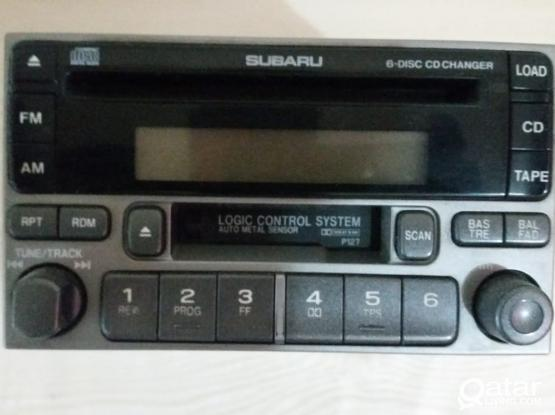 Subaru forester 2007 car stereo(original)