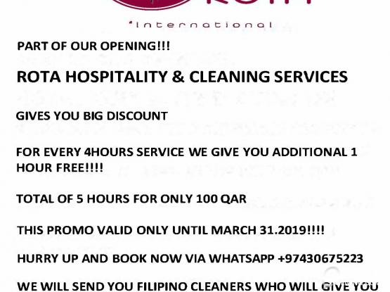 HOUSE CLEANER PROMO