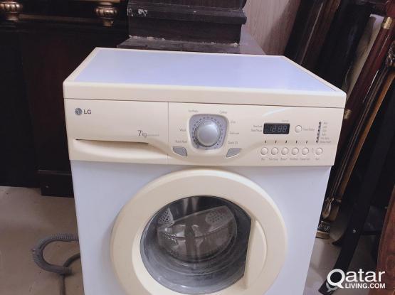For sell LG washing machine 7Kg