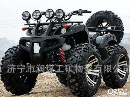 110CC Bull Beach Vehicle  Wheeled Four-wheeled Off-road Vehicle Four-wheeled Motorcy