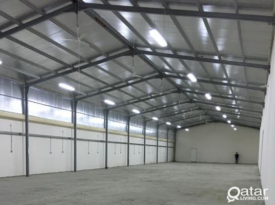 Foodstuff warehouse 800 sq.m ., 1600 sq.m