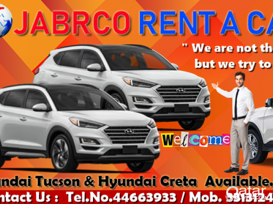 New Brand Car Available For Rent :- Contact us :- 44663933/33131241