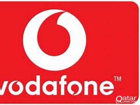 Vodafone number for sale (7778844X)