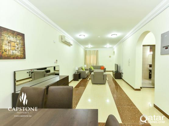 FREE 1 MONTH!! Fully Furnished 2BR in Prime Location + Pool and Gym