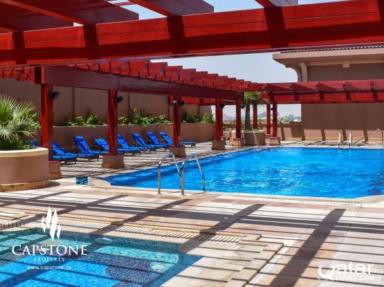FREE 1 MONTH!! 2-Bedroom Apartment in Porto Arabia' '*