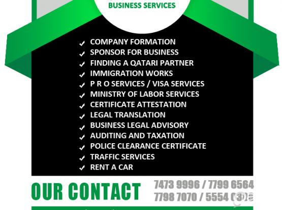 COMPANY FORMATION - IMMIGRATION ASSISTANCE - BUSINESS SERVICES - PRO SERVICES - VISA SERVICE