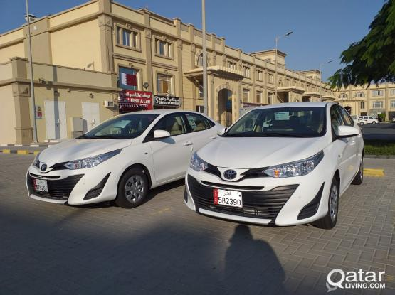 TOYOTA YARIS 2019 MODEL AVAILABLE FOR RENT CALL-50399151 WEEKLY OFFER