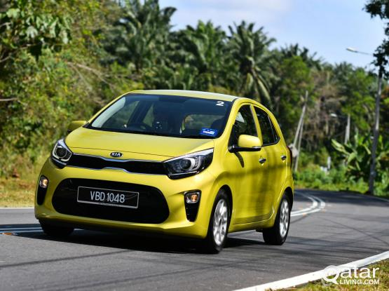 MONTHLY 1300 QAR & DAILY 55 QAR FOR RENT ON KIA PICANTO WITH GOOD CONDITION ,CONTRACT 50399150