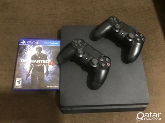 PS4 Slim for sale. (Same as new)