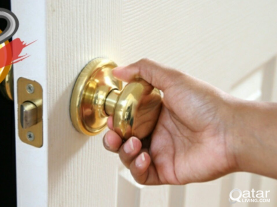 Door locked ? we can change lock without Damage