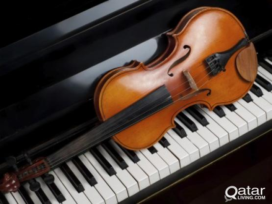 Violin and Piano teacher at your home and time!