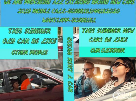 2019 MODEL 0 KM CARS FOR RENT CALL-50399151/66502475/44182020