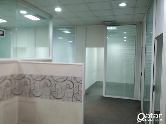 Prime Location Office Space For Rent at Doha
