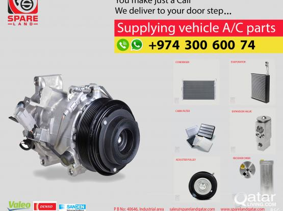 Supplying Vehicle A/C Parts