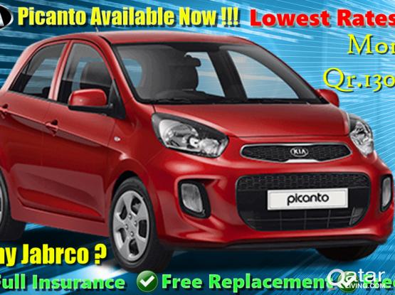 Kia Picanto & Kia Cerato Vehicles  Available For Rent .:- Contact Us :- 44663933/33131241