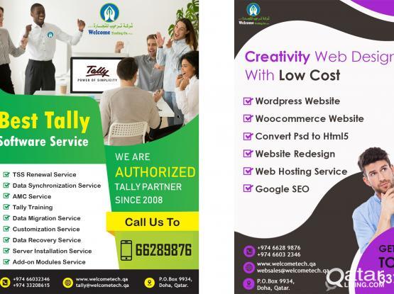 BEST TALLY & WEBSITE SERVICE IN QATAR