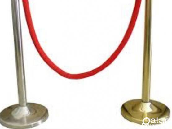 Slightly Used Q Stand with Rope