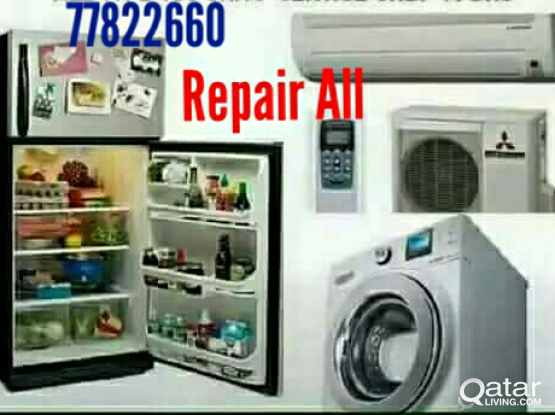 AC, FRIDGE AND, WASHING MACHINE, REPAIR