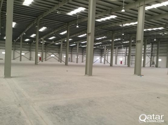 BRAND NEW 6800 SQUARE METER STORE  RENT IN INDUSTRIAL AREA