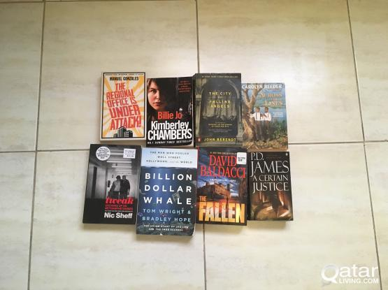 English bestseller books and novels 2