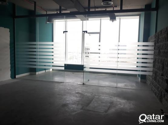 127 Sqm Partitioned Office in Al Sadd