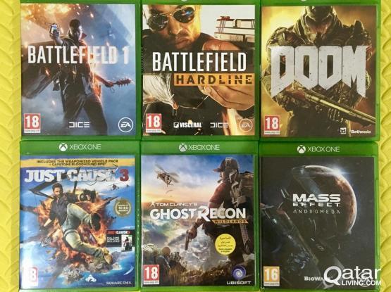Xbox One games Bundle 4