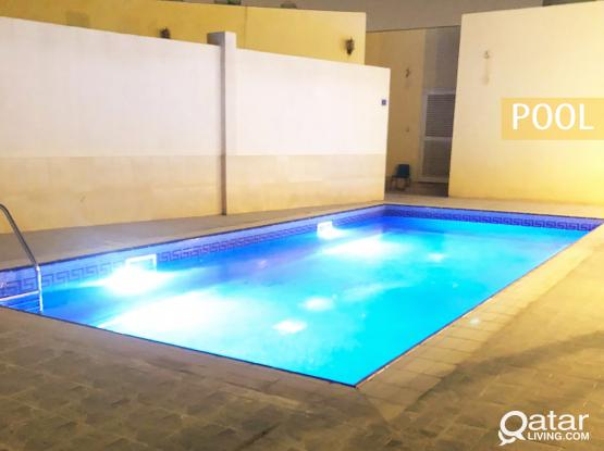 Lovely 2 BHK Apartment w/ Pool, Available in Al Thumama