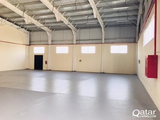 400 SQUARE METER STORE  FOR RENT IN INDUSTRIAL AREA