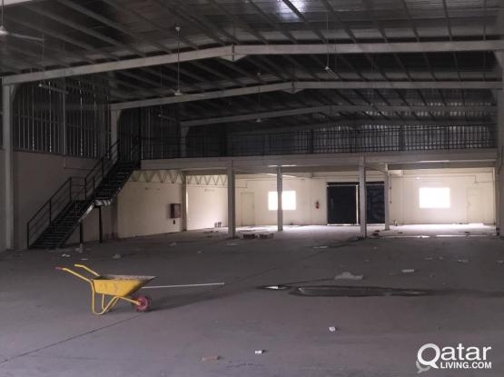 1000 SQUARE METER STORE FOR RENT IN INDUSTRIAL AREA