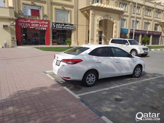 TOYOTA YARIS 2019 MODEL BRAND NEW AVAILABLE FOR WEEK ONLY 490 QAR. CALL-50399151/44182020