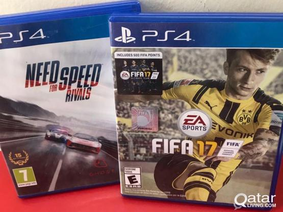 Need for speed + FIFA 17