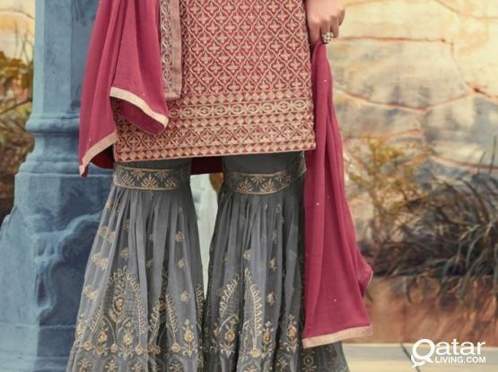 Indian and pakistani letest suit tailoring only 25 qr