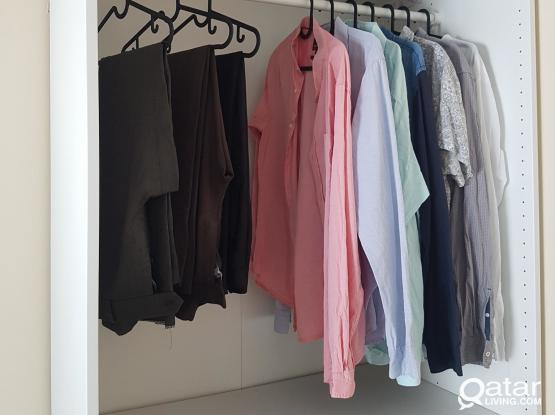Ikea open wardrobe (cupboard) adjustable for sale.