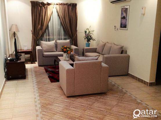 Fully Furnished 1 Bedroom Apartment-Flat In Al Sadd Near Royal Plaza