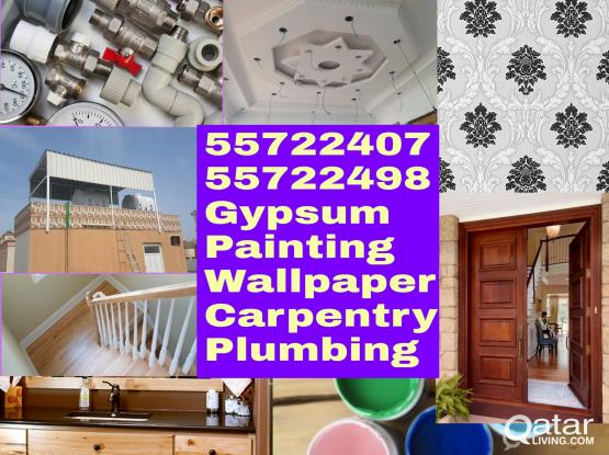 We do all kind of maintenance work. Please call or whatsaap:55722407 or 55722498