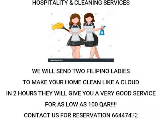 CLEANING SERVICES PROMO