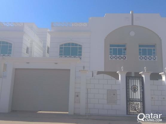 NEW VILLA PORTION 1 BHK AVAILABLE AT AL THUMAMA ( CLOSE TO GULF DRIVING SCHOOL)