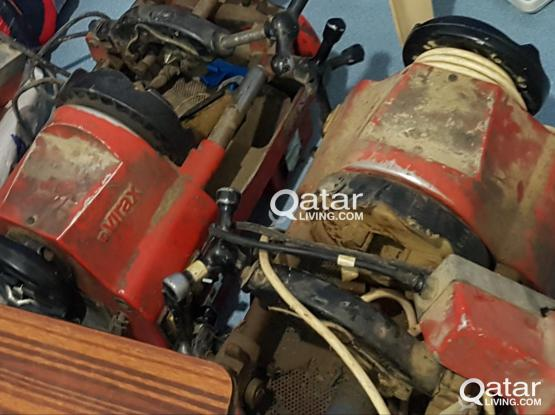 Mechanical Tools for sale - Welding machine, threading machine etc.