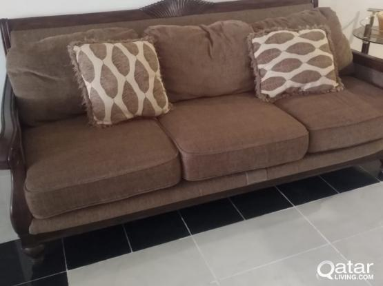 Table and sofa in a good condition