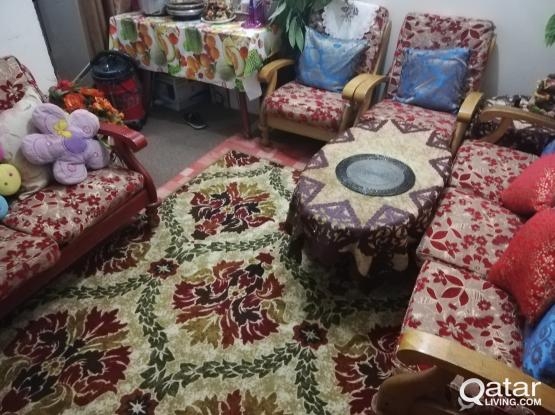 7 sitter sofa for sale (without those small cushions