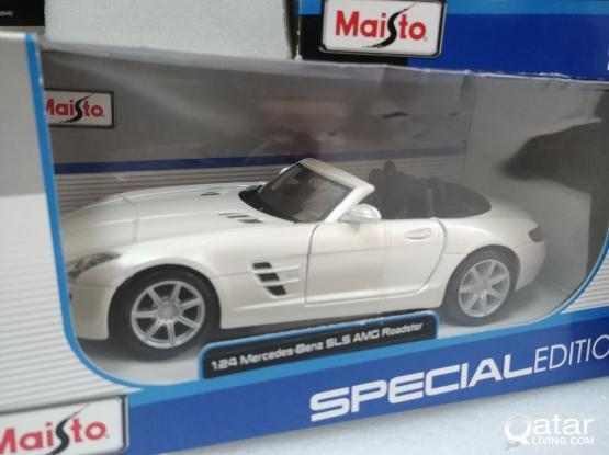 1:24 mb sls model car