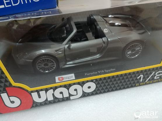 1:24 porsche 918 model car
